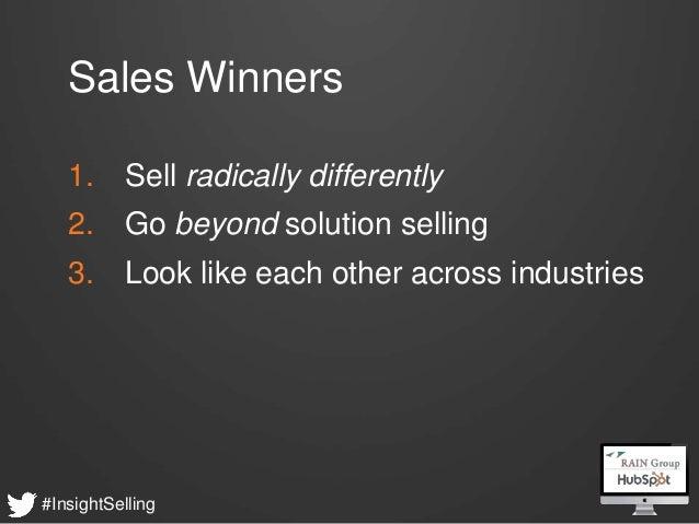 What Sales Winner do Differently - HubSpot & RAIN Group Webinar Slide 4