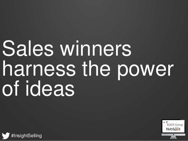 What Sales Winner do Differently - HubSpot & RAIN Group Webinar Slide 8