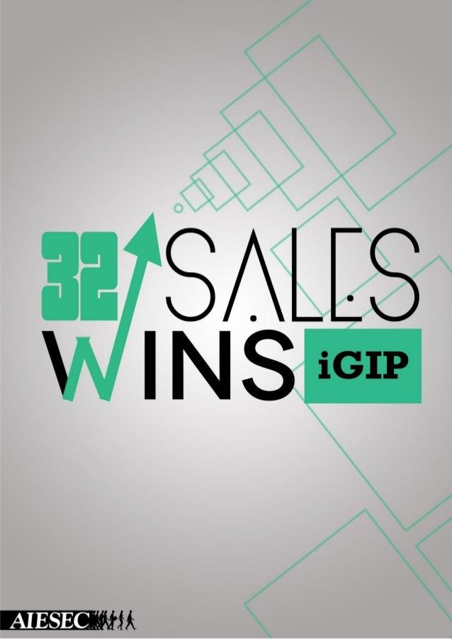 AIESEC Book of Sales Wins