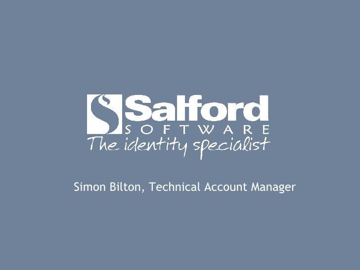 Simon Bilton, Technical Account Manager