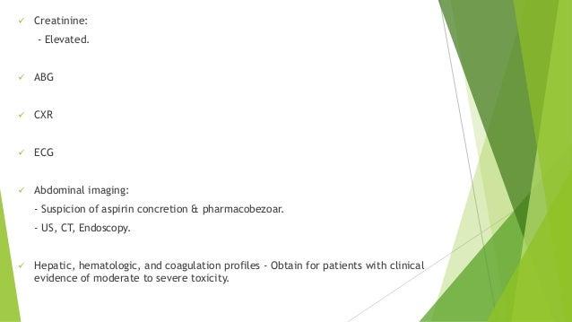 Investigation of aspirin overdose using salicylate assay