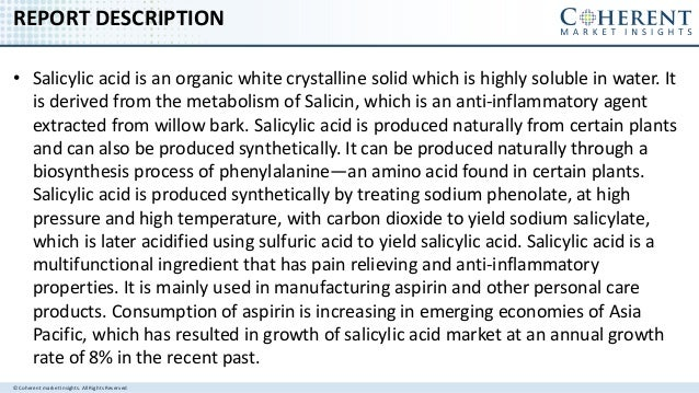 Salicylic Acid Market - Global Industry Insights, Trends, Outlook, and Opportunity Analysis, 2016–2024 Slide 2