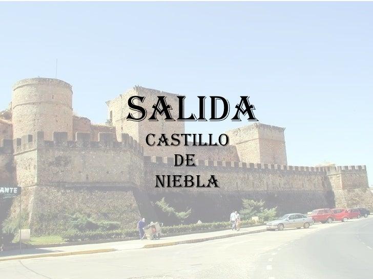 SALIDA  CASTILLO  DE  NIEBLA