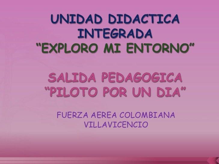 FUERZA AEREA COLOMBIANA     VILLAVICENCIO