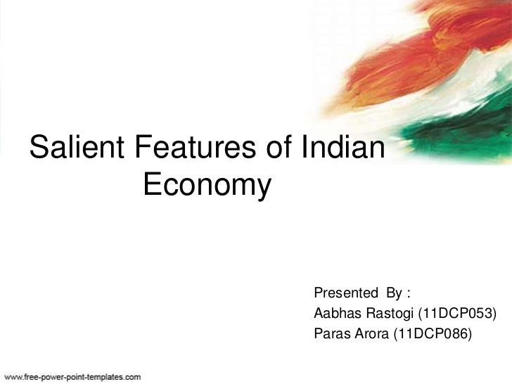 Salient Features of Economic Reforms in India