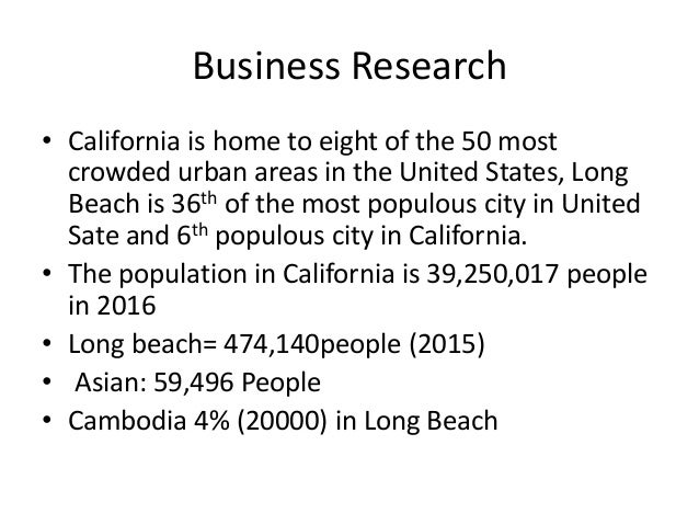 an analysis of cambodian subculture in long beach california An ethnographic analysis of factors leading to census   refuses most of the cambodian refugees in long beach, california, live in a.