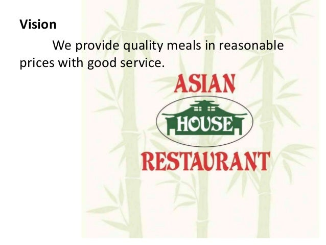 business plan of asian house restaurant 10 introduction our shop name secret restaurant, we try to mix the korean food and chinese food to serve public  business plan for chinese and korean food .