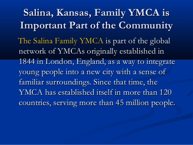 Salina Kansas Family Ymca Is Important Part Of The Community By Ala