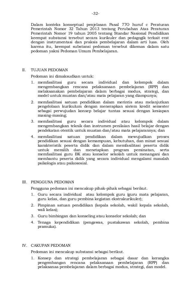 Salinan Permendikbud Nomor 81 A Tahun 2013 Tentang