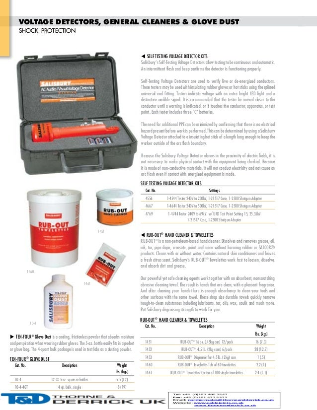 Salisbury Electrical Safety Equipment Dielectric