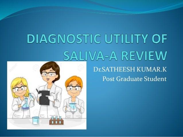 Dr.SATHEESH KUMAR.K Post Graduate Student
