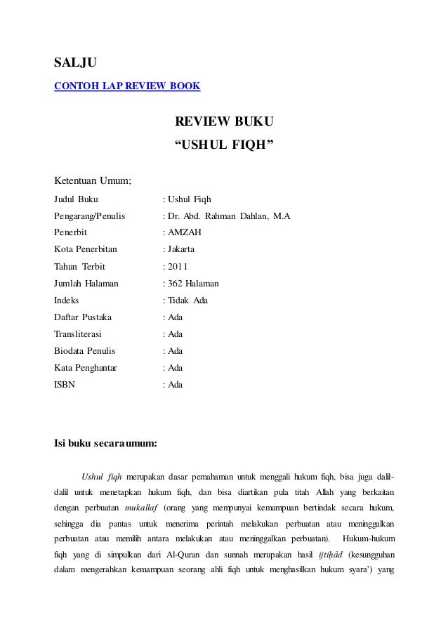 Contoh Makalah Critical Book Report Custom Paper Academic Service