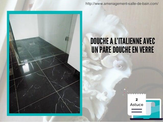 Comment aménager une salle de douche petite surface