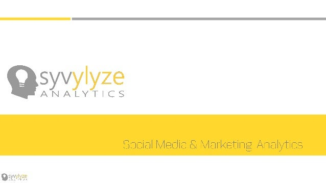This is what we at Syvylyze Analytics are working towards. We want to help you change the way you consume data. Uncover th...