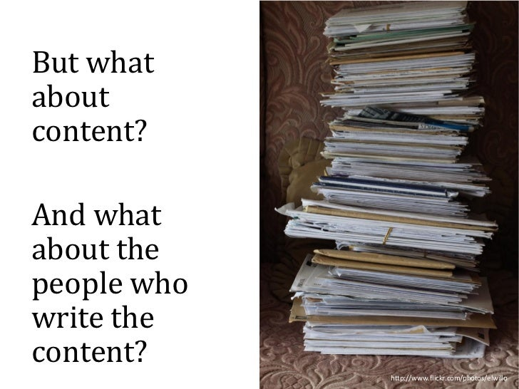 What structured content will mean for authors Slide 3