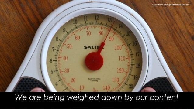 Content obesity: An organisation's silent killer Slide 2