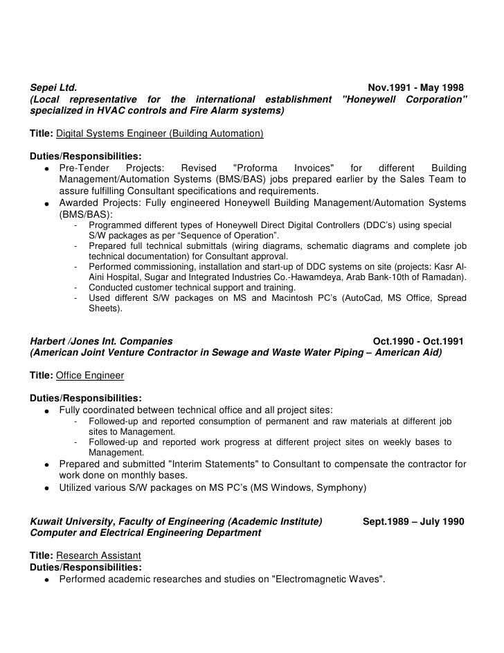 Fantastic Controls Engineering Resume Gift Administrative Officer