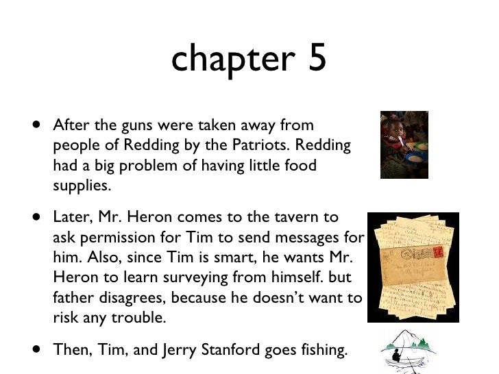 my brother sam is dead summary chapter 2