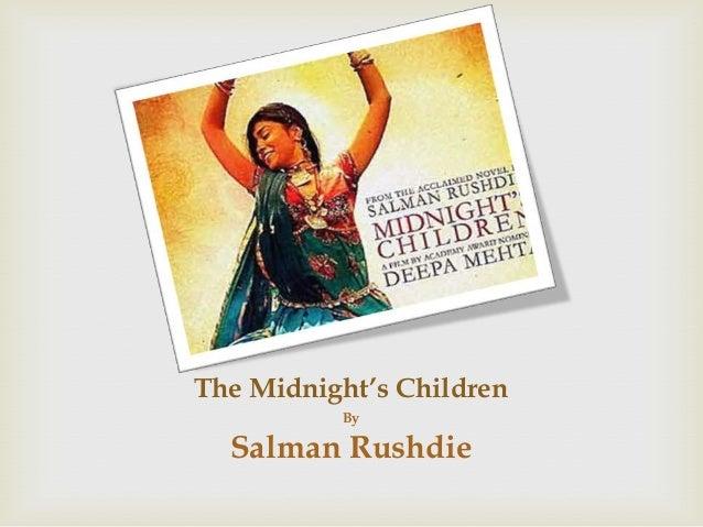 The Midnight's ChildrenBySalman Rushdie