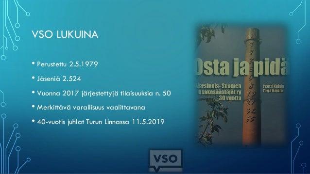 Piensijoittajan näkymät ja Varsinais-Suomen Osakesäästäjät Slide 3