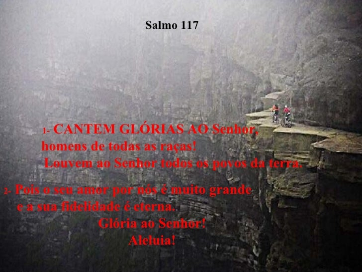 Salmos Para O Amor: Salmo 117 E 118
