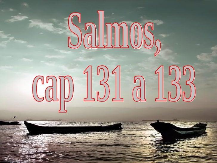 Salmos, cap 131 a 133