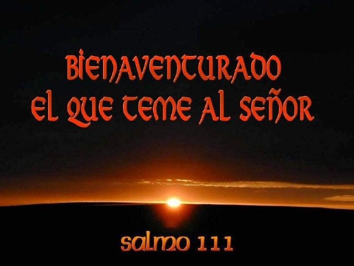 Resultado de imagen para salmo 111