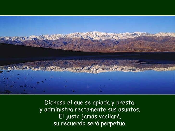 Resultado de imagen para Dichoso quien teme al Señor  Dichoso quien teme al Señor y ama de corazón sus mandatos.