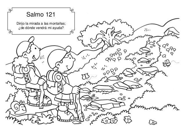 Salmo 121 Dirijo la mirada a las monta�as; �de d�nde vendr� mi ayuda?