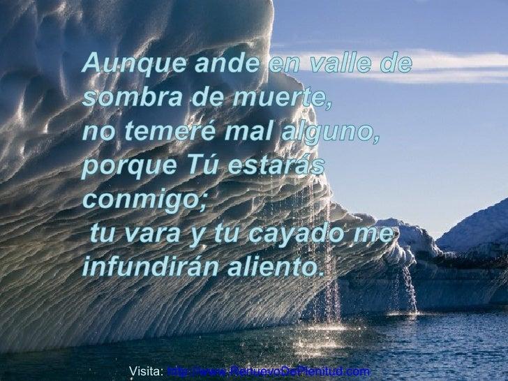 Suficiente Salmo 23 AV07