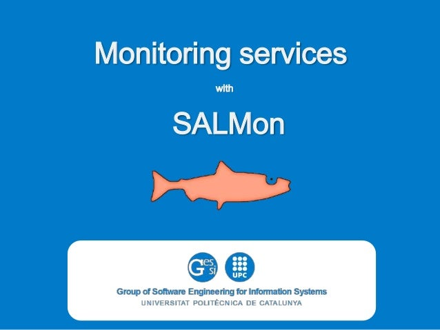 Monitoring services with  SALMon