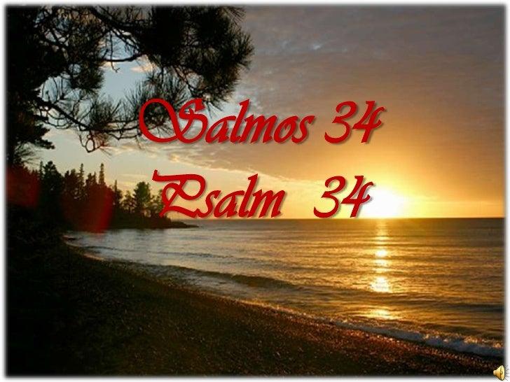 Salmos 34Psalm  34<br />