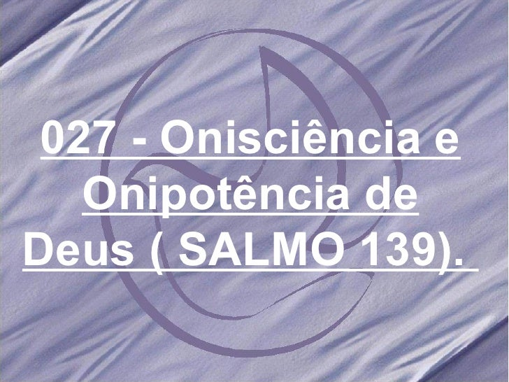Salmos e hinos 027