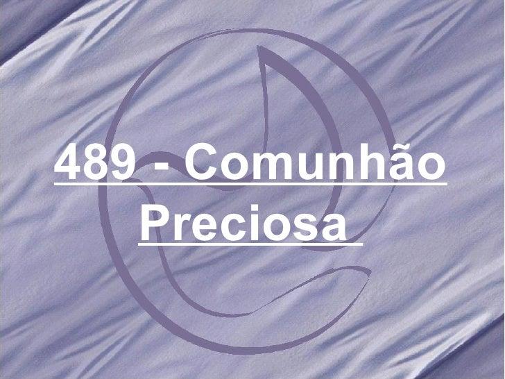 Salmos e hinos 489