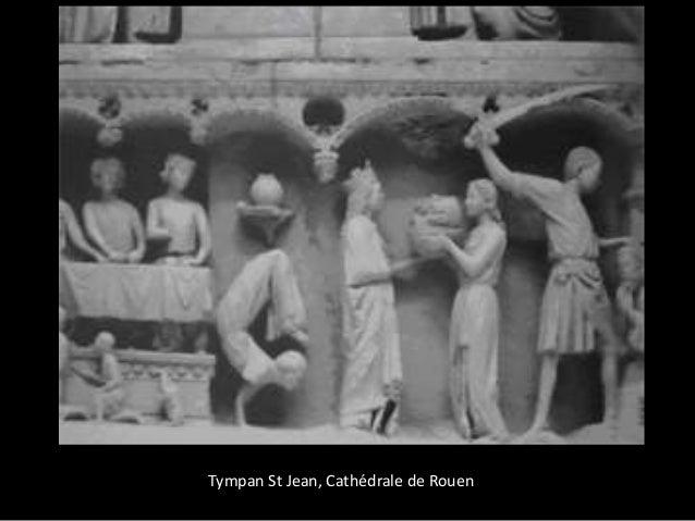 Tympan St Jean, Cathédrale de Rouen