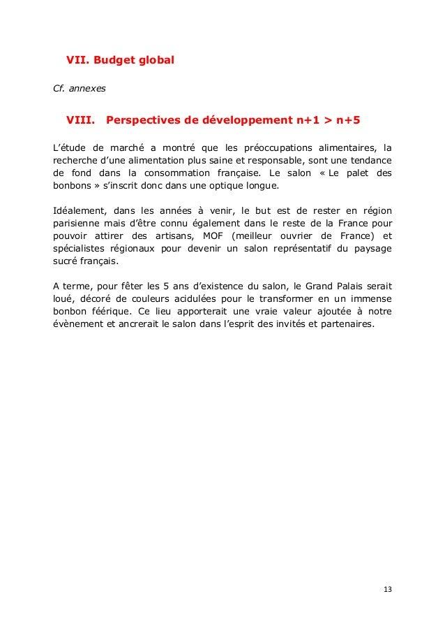 Communication v nementielle plan pour un projet de salon for Support de communication pour salon
