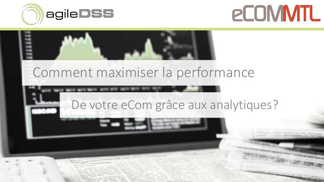 Comment maximiser la performance De votre eCom grâce aux analytiques?