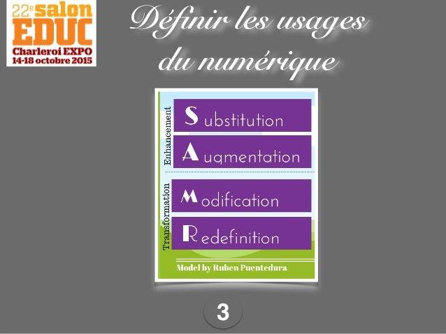 3 Définir les usages du numérique