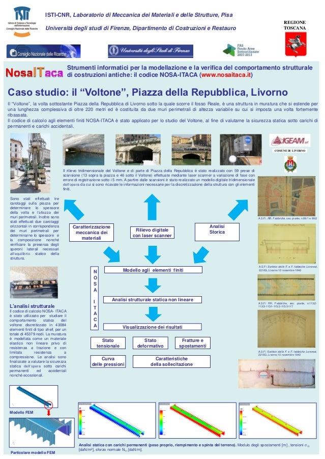 ISTI-CNR, Laboratorio di Meccanica dei Materiali e delle Strutture, Pisa                                                  ...