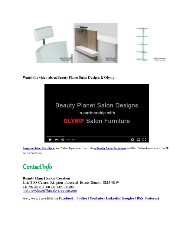 Salon design and salon interiors form beauty planet salon for A new creation salon