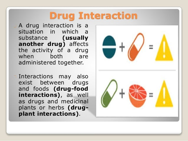 Interaction of drugs and nutraceuticals