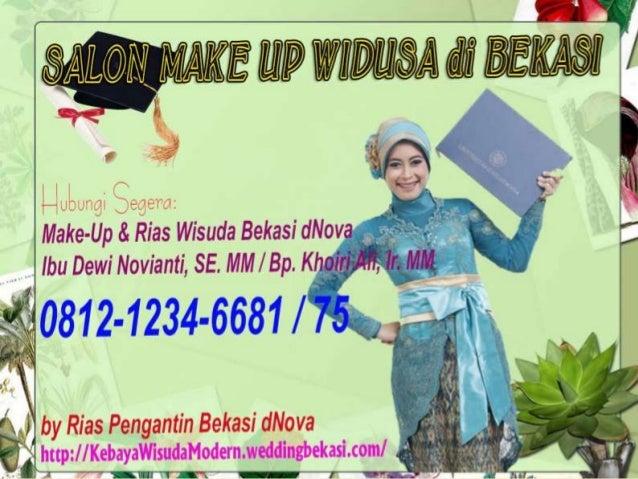 SALON MAKE UP WISUDA BEKASI–by Rias Pengantin Bekasi dNova 0812-1234-6681, 0812-1235-6675 | RiasWisudaBekasi.weddingbekasi...