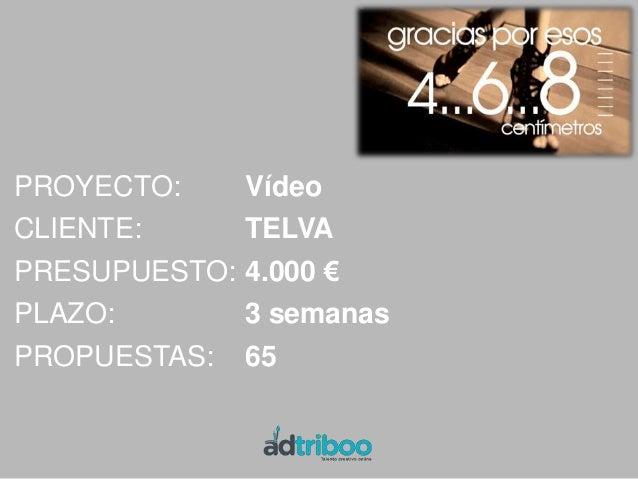 PROYECTO:      Diseño WebCLIENTE:       UsuahïaPRESUPUESTO:   1.200 €PLAZO:         3 semanasPROPUESTAS:    86