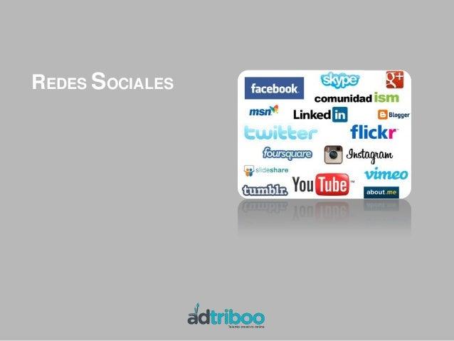 REDES SOCIALES               (Facebook, Lindedin…)VENTAS COLECTIVAS   (Groupon, Privalia…)COMUNIDADES                  (St...