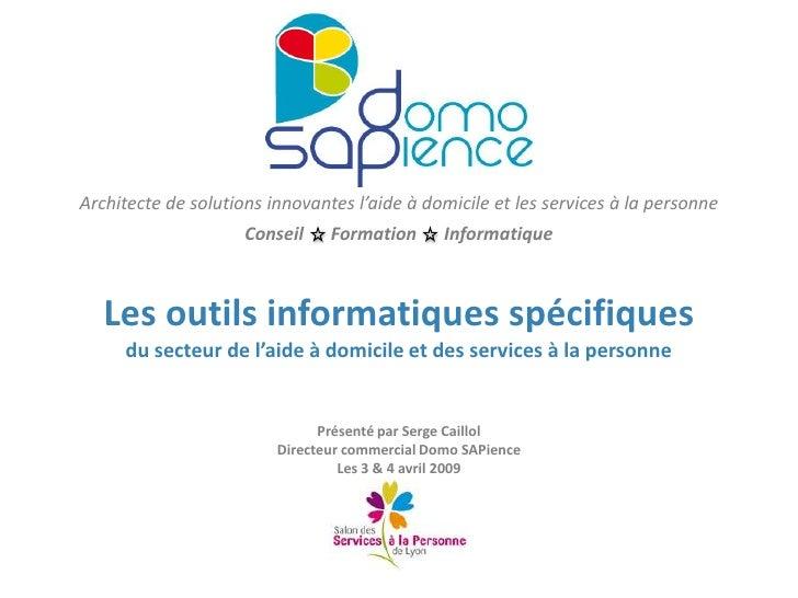 Architecte de solutions innovantes l'aide à domicile et les services à la personne<br />Conseil      Formation      Inform...