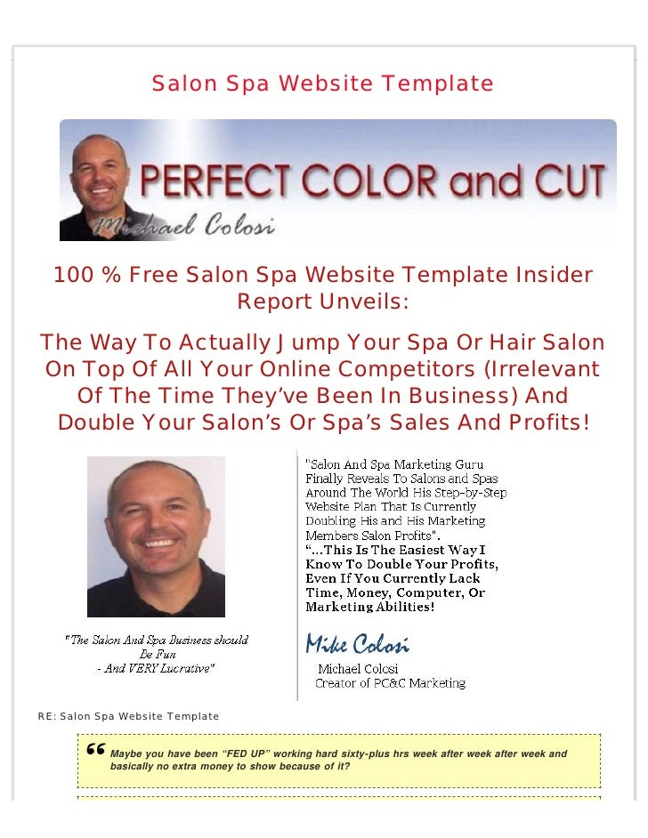 Salon Spa Website Template       100 % Free Salon Spa Website Template Insider                  Report Unveils: The Way To...