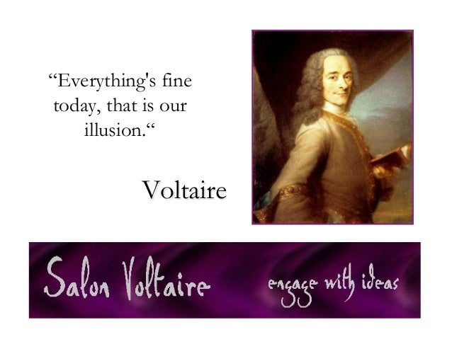 Quotes Voltaire Delectable Salon Voltaire Quotes