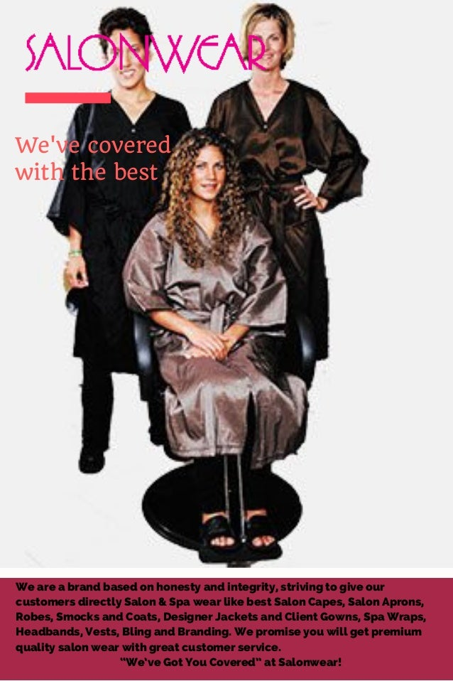 Salonwear - Salon Robes, Spa Robes, Personalized salon robes