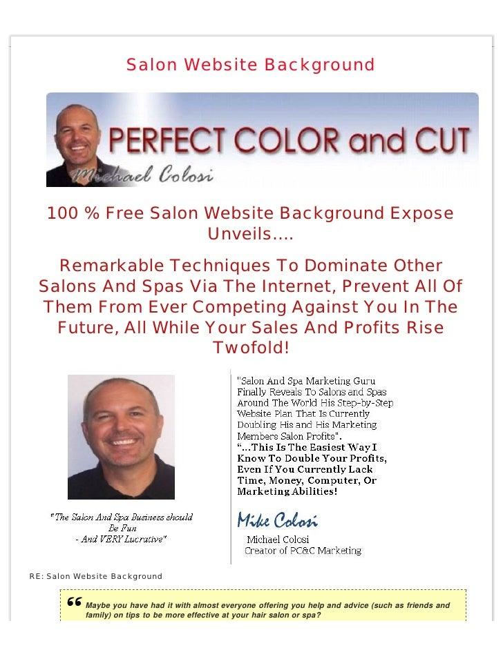 Salon Website Background        100 % Free Salon Website Background Expose                     Unveils….    Remarkable Tec...