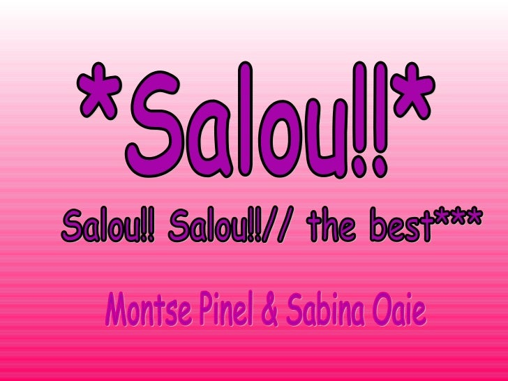 Where is Salou?                 WE                 ARE                 HERE                • Salou is a city ofHERE       ...